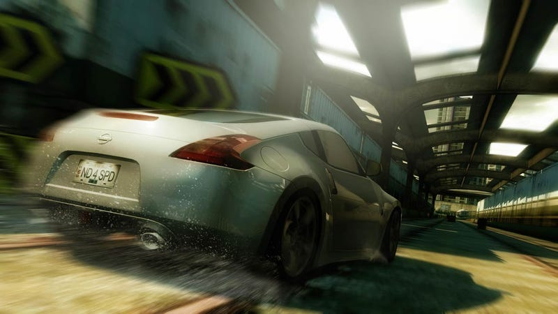 Nissan 370Z To Make Virtual Debut In Need For Speed Undercover