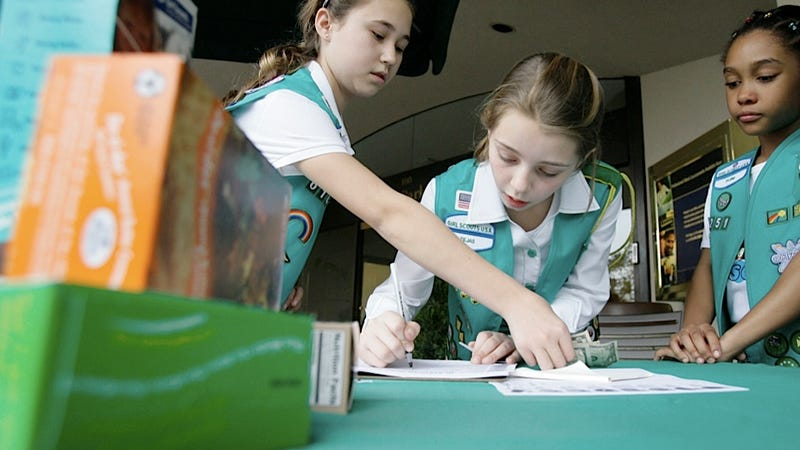 Texas Girl Scout Toughs Fail to Stop Cookie Cash Box Bandit