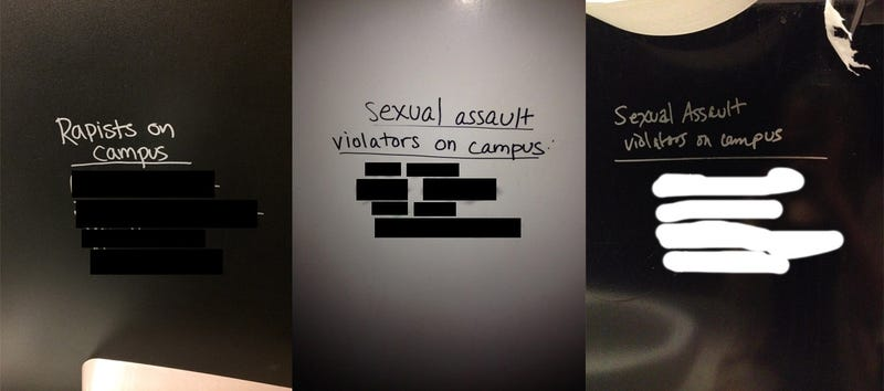Who's Writing the Names of Alleged Campus Rapists on Columbia's Walls?
