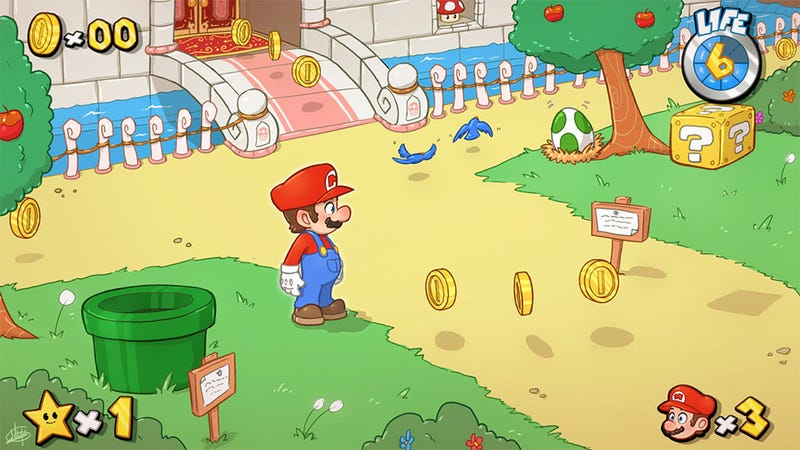 What a New Mario Game Could/Should Look Like