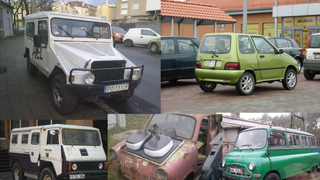 Obscure, weird, and random cars living and dying in Poland