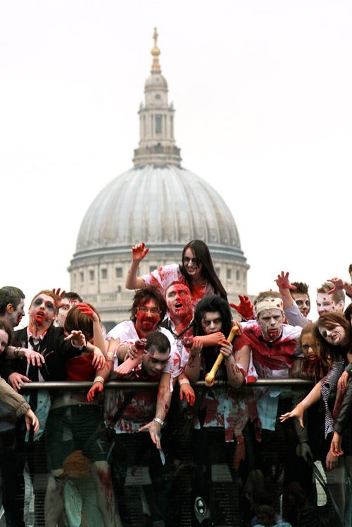 Capcom Zombies Invade London
