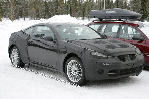 2009 Hyundai Genesis Coupe Spotted Before New York Auto Show Reveal