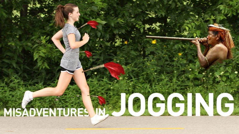 """Struck By Blow Dart"": A Brief Index Of Recent Terrible Events Involving Joggers"