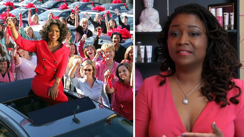 This Woman Used Oprah's Pontiac To Finance Her Dreams
