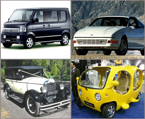 The Top Ten Worst Car Names