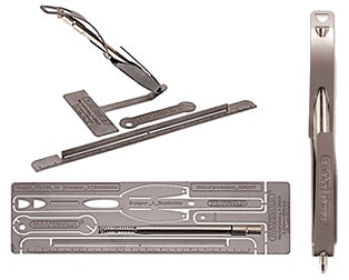 Falter 2D DIY Metal Pen Draws, Measures, Opens Envelopes, Kills People