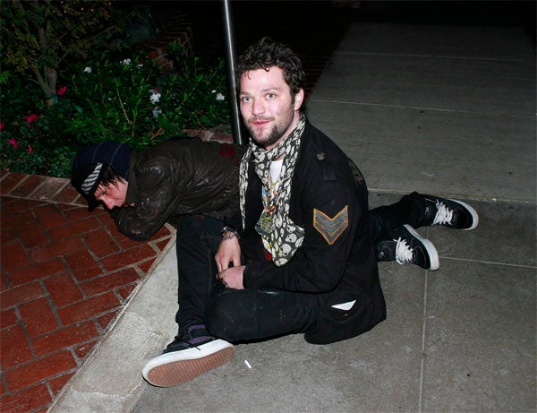 Bam Margera Is The Last One Standing Sitting