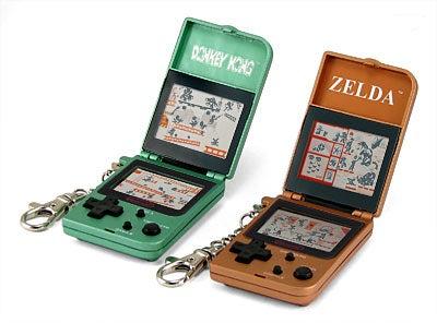 Game & Watch Donkey Kong and Zelda Keychain