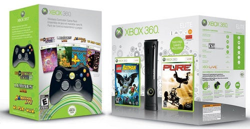 Xbox 360 Holiday Bundles Keep Elite at $300, Jack Controllers to $60