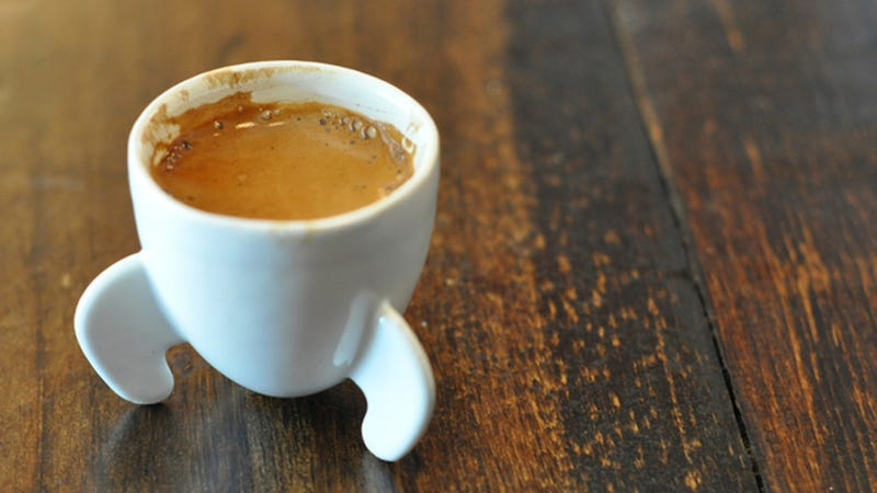 Sip Your Espresso Out of a Tiny Rocket
