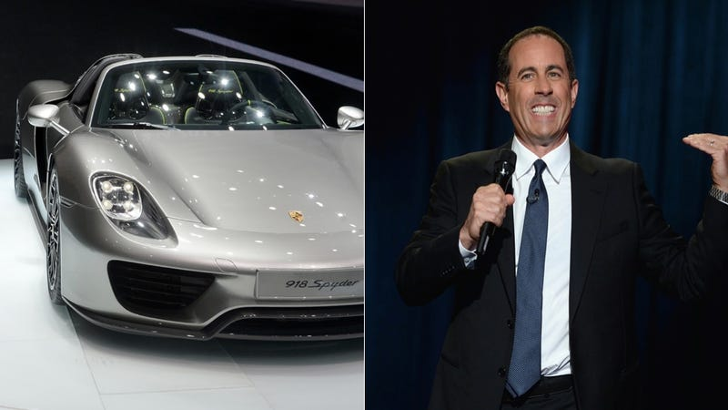 Jerry Seinfeld Can Only Get A Porsche 918 Spyder If You Watch His Show
