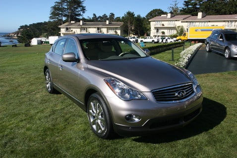 Big Bux to be Made on Google Street View With Infiniti EX35
