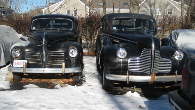 1940 Plymouth and 1940 Buick