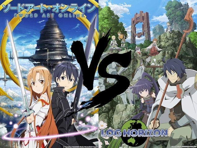 Ani-TAY Faceoff: Sword Art Online vs. Log Horizon