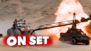Eighteen minutes of raw footage from the set of Mad Max: Fury Road