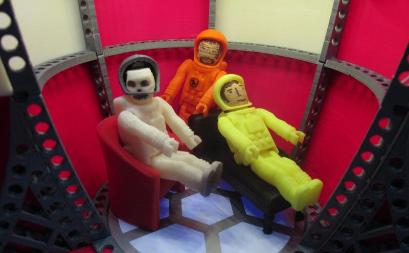 Best Use of New MakerBot: Terrifying Lego Space Zombies