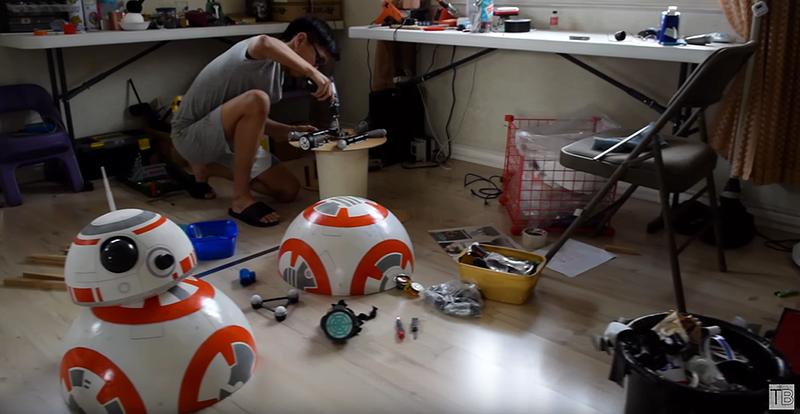 Cómo fabricar el robot BB-8 a tamaño real con materiales caseros y una placa Arduino