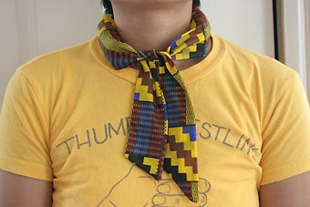 Make a Cooling Neck Tie or Scarf
