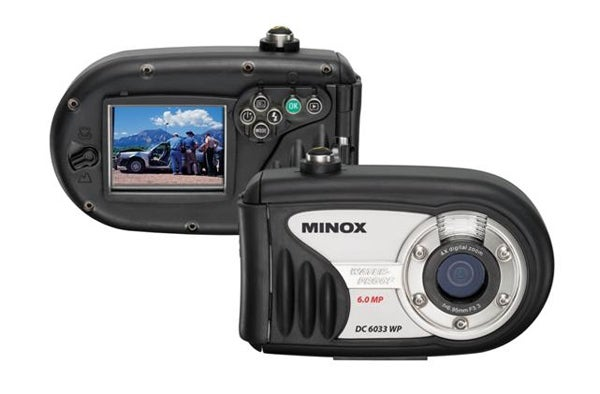 Rugged Camera from Minox is Waterproof to 33 Feet and Just Rubbery