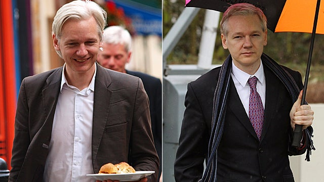 Julian Assange's Journey to Fashion Icon Is Complete