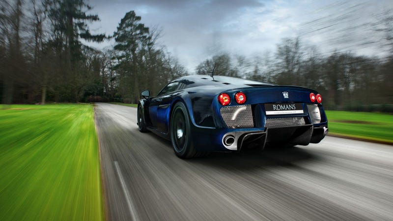 Your Ridiculously Cool Blue Carbon Fiber Noble M600 Wallpaper Is here