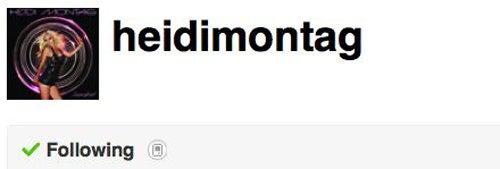 Heidi Montag Hits On Justin Bieber Via Twitter