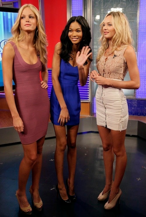 Models Can Barely Contain Their Morning-Television Excitement