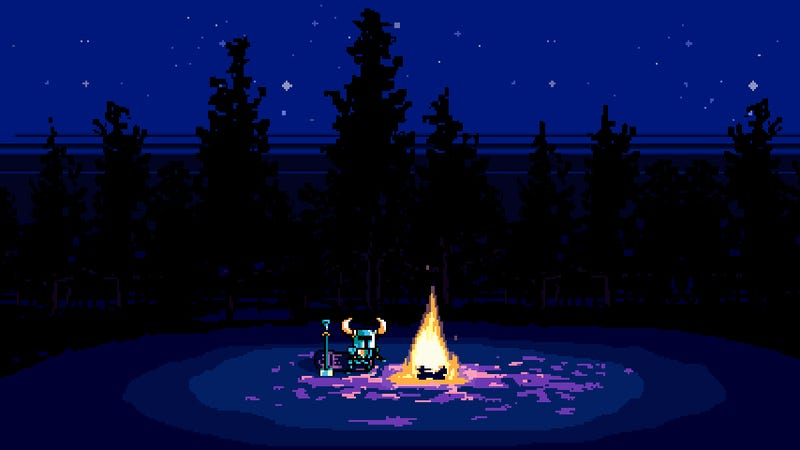Here's Shovel Knight, A Surprise For Folks Who Miss the SNES