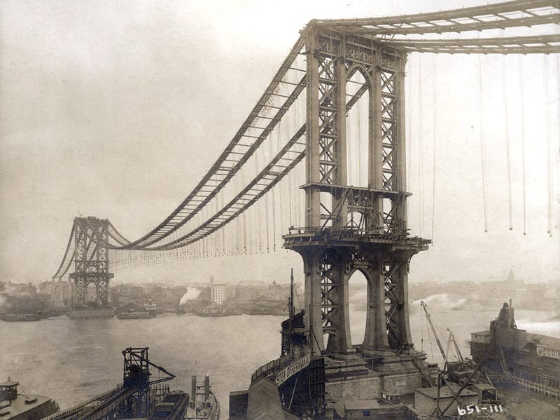 22 Images From NYC's Golden Age of Bridge Building