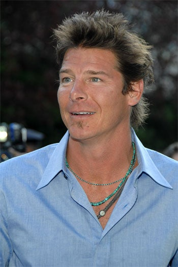 "Ty Pennington Knows That Nothing Says ""I Am Sorry I Drove Drunk"" Quite Like An Earnest Expression And A Turquiose Man-Necklace"