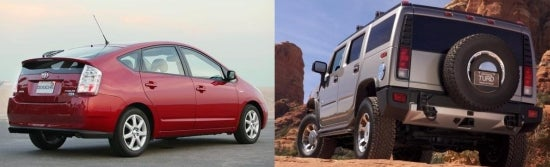 Environmental Impact of Prius, Hummer Considered By Slate