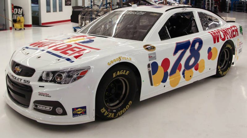 Ricky Bobby's Wonderbread NASCAR Will Hit The Track This Weekend