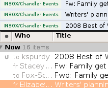 Chandler 1.0 is a Serious, but Rough, To-Do Manager