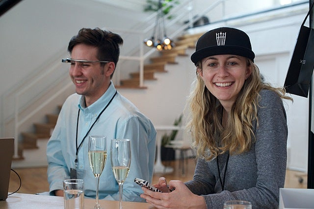 Google Serves You Free Champagne When You Pick Up Your Google Glass