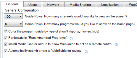 Webguide for Media Center Streams All Your Content to Any Browser