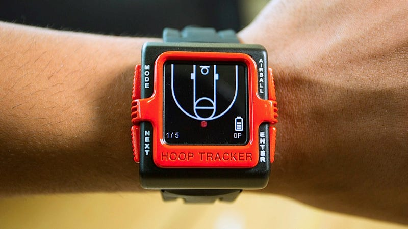 The World's First Basketball Watch Tracks How Good Your Game Is