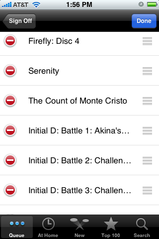iFlix iPhone Netflix Queue App Almost Better Than the Real Thing
