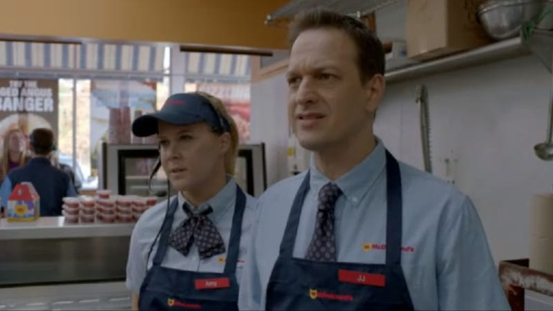 Amy Schumer and Josh Charles Find Love and Purpose Amongst Fast Food