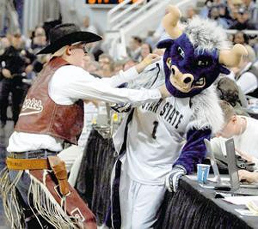 When Mascots Don't Play Nice