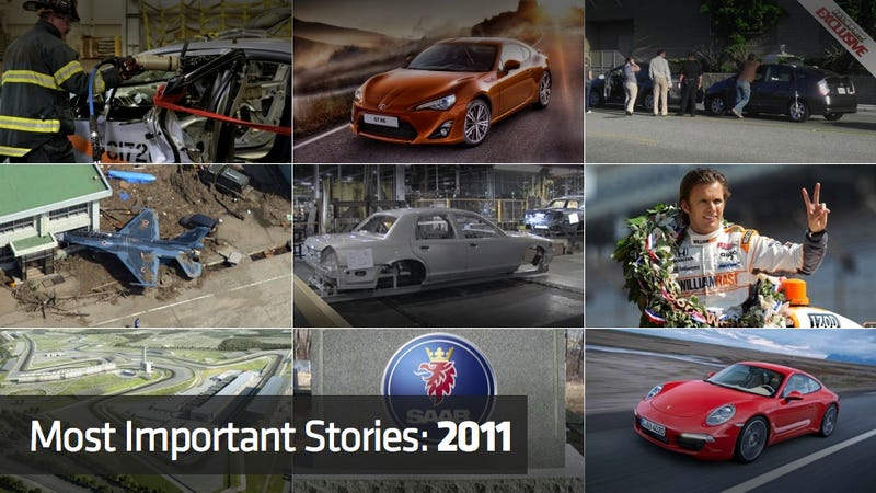 The ten most important car stories of 2011