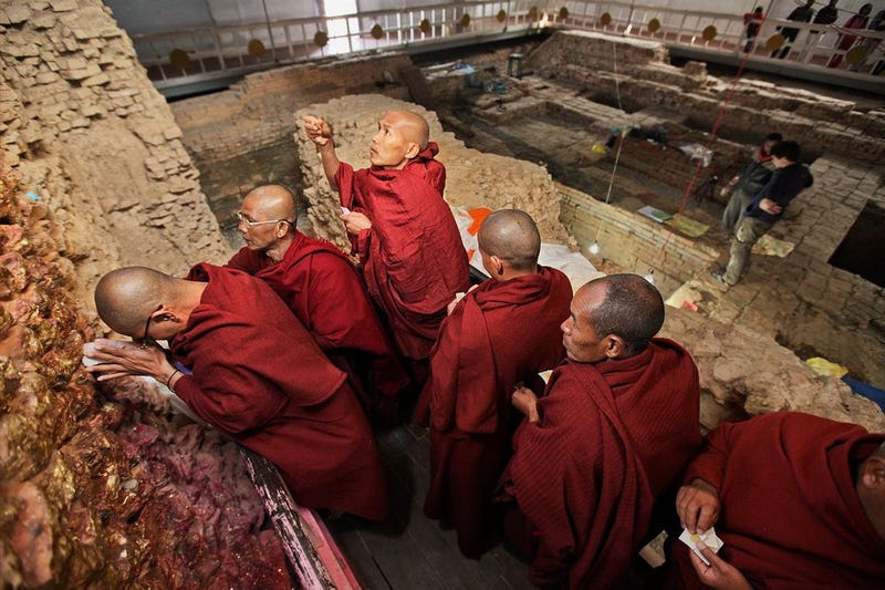 Incredible Archaeological Discovery May Reset the Buddha's Birth Date