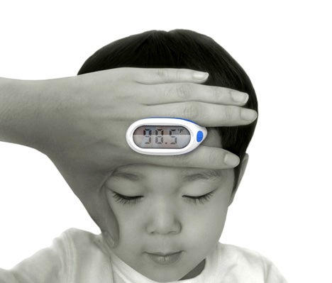 Lunar Baby Thermometer Avoids Sticking Things Up the Wrong Places