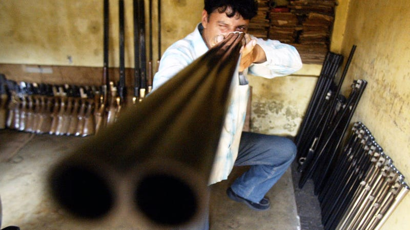 'High-End Weapons a New Form of Bling' in India