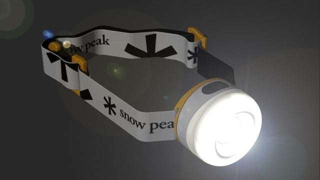 Go Snowboarding in the Dark With This LED Headlamp
