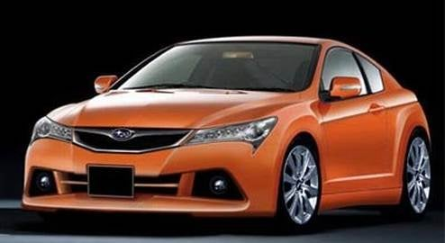 Subaru Coupe Gets Some Full-Frontal Speculation