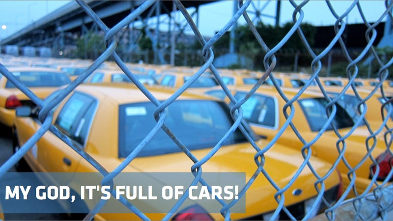 A secret treasure trove of New York City taxis
