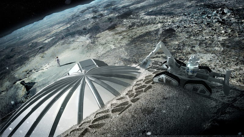 This Is What the First Lunar Base Could Really Look Like