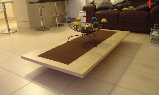 DIY Coffee Table Folds Into a Dining Table
