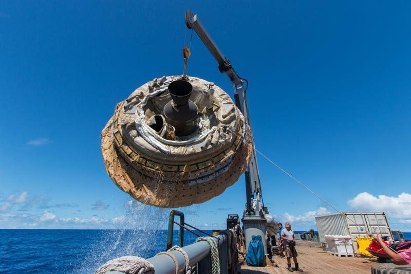 A Successful First Flight for of the Saucer Test Vehicle over Hawaii
